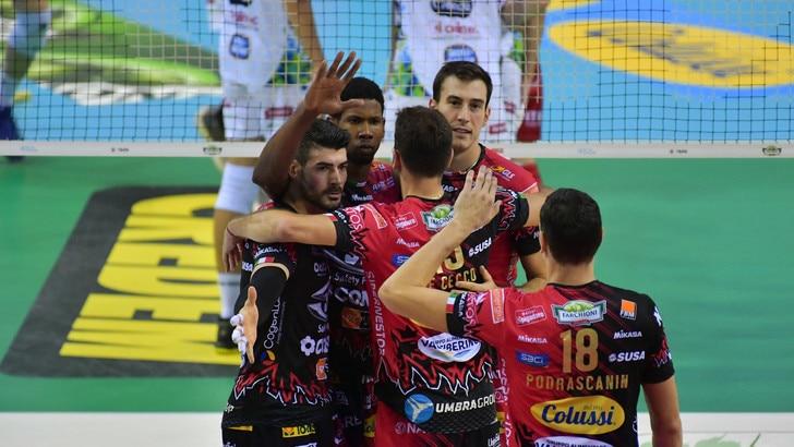 Volley: Superlega, Perugia non conosce ostacoli, si arrende anche Modena