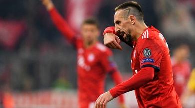 Bild: «Ribery perde la testa: insulti e schiaffi a un giornalista»