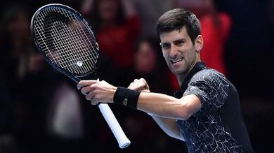 Tennis, ATP Finals: Djokovic in discesa contro Zverev