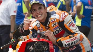 MotoGp, Marquez: «A Valencia voglio un'altra vittoria»
