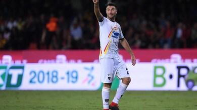 Serie B Lecce, Lucioni: «Squalifica alle spalle. Lavoriamo per migliorare»