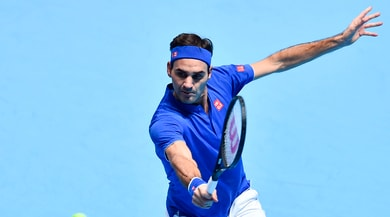 Tennis, Atp Finals: Federer batte Thiem, austriaco eliminato