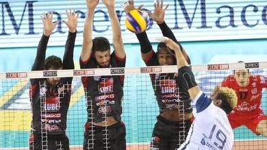 Volley: Superlega, la Lube doma a fatica la resistenza di Siena
