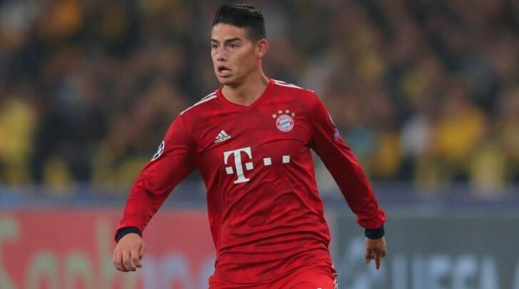 Kicker: «Il Bayern Monaco non riscatterà James Rodriguez». La Juventus osserva