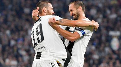 Juventus, Bonucci e Chiellini rientrano prima