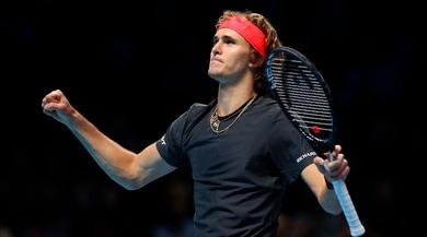 Atp Finals: Zverev batte Isner e va in semifinale contro Federer