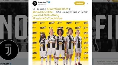 Juventus: M&M's nuovo sponsor della squadra Women