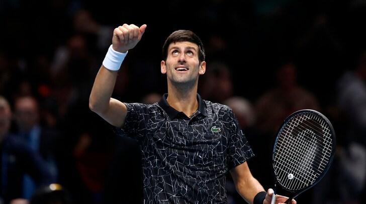 Atp Finals: Djokovic batte Cilic nel match-esibizione