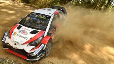 Rally d'Australia: guida Tanak, Ogier vicino al titolo