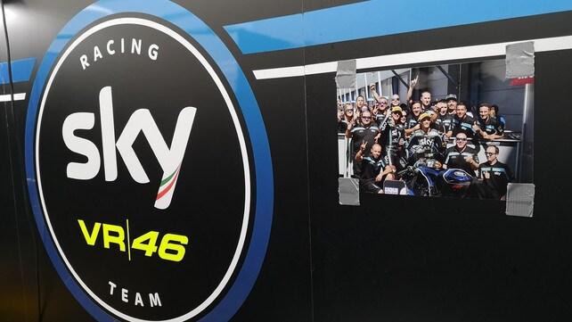 A Valencia con lo Sky Racing Team VR46