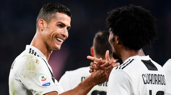 Juventus, Cuadrado: «Un privilegio giocare con Ronaldo: è una persona molto speciale»