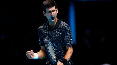 Atp Finals, la finale sarà Djokovic-Zverev