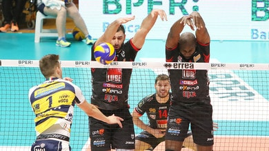 Volley: Superlega, il big match di Modena lo vince la Lube