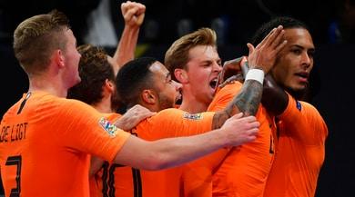 Nations League, Schick condanna Hamsik. Olanda alla Final Four!