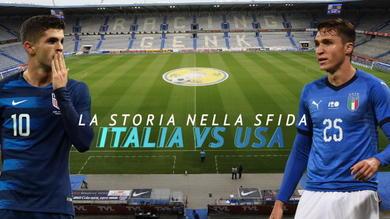 Italia vs USA, la storia nella sfida