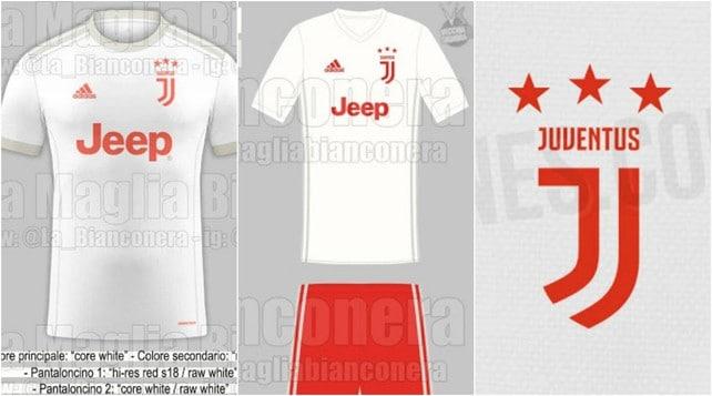 Juventus, ecco le nuove maglie: la seconda sarà biancorossa?