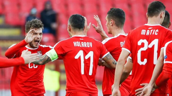 Nations League, gli ultimi verdetti: Ljajic regala alla Serbia il primato