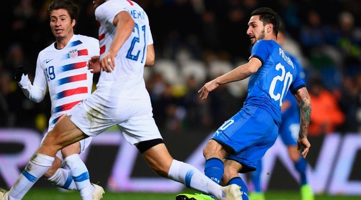 Italia-Usa 1-0, decide Politano al 94'