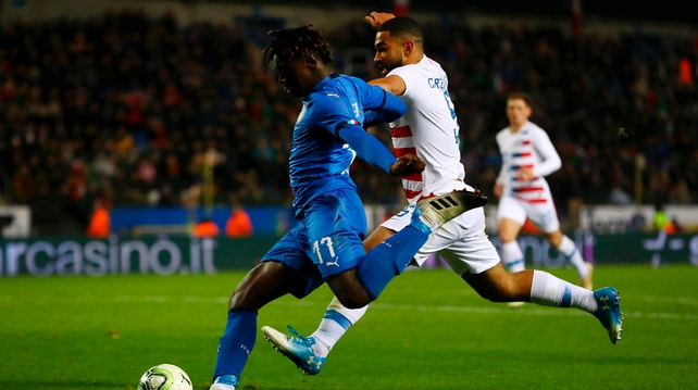 L'Italia batte gli Usa con Politano. Debutta Kean