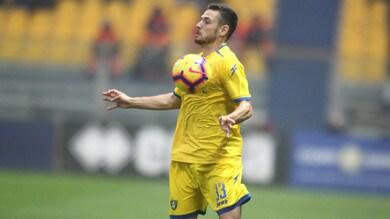 Serie A Frosinone, Beghetto: «Inter? Un'altra partita della vita»