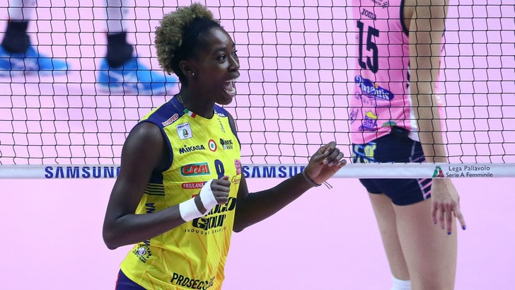 Volley: A1 Femminile, stagione finita per Megan Easy