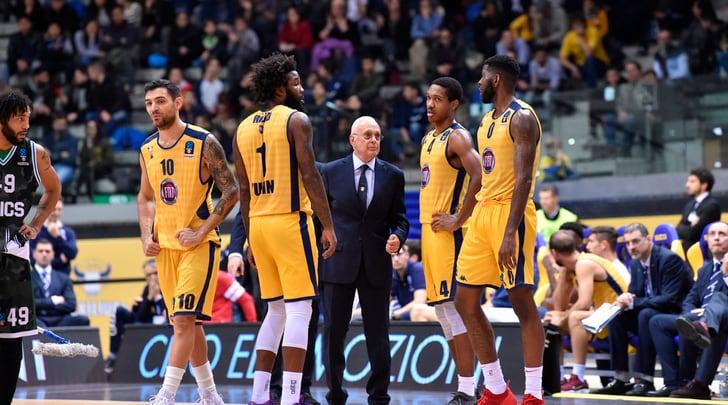 Basket, la Fiat perde ancora: a Torino vince Kazan
