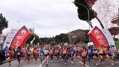 Huawei RomaOstia Half Marathon veste Brooks