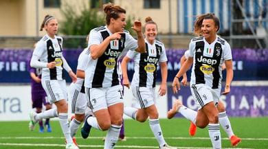 Juventus Women show: Fiorentina ko