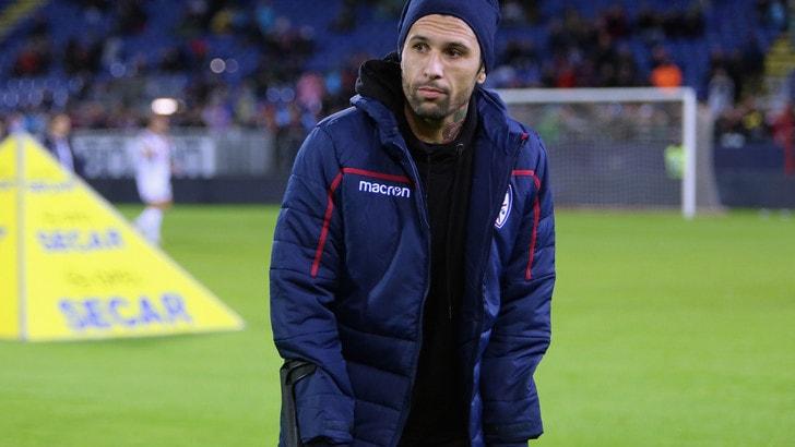 Serie A Cagliari, allenamento in parte in gruppo per Castro