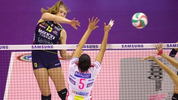 Volley: A1, Conegliano e Novara recuperano il match della 4a giornata