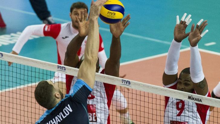 Volley: Mondiale per Club, impresa Lube: piegato lo Zenit al tie break