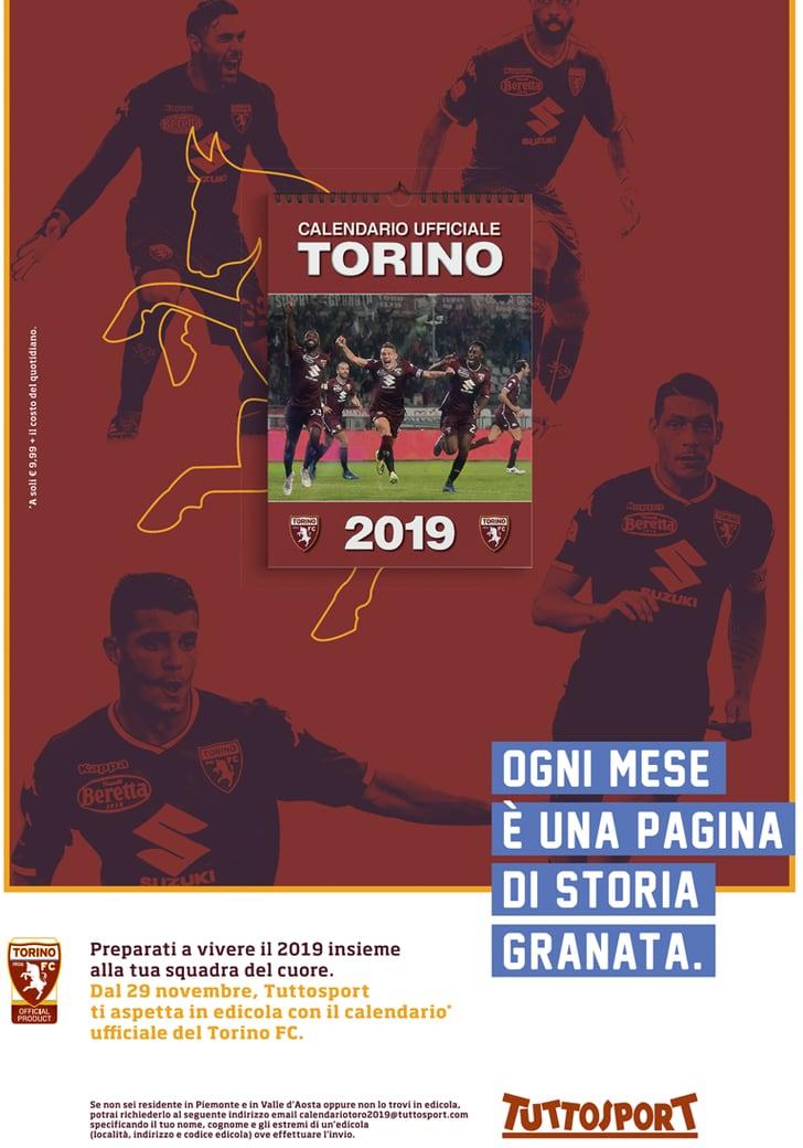 Calendario Ufficiale Torino FC