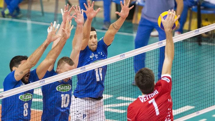 Volley: Mondiale per Club, Trento in semifinale, battuto il Sada Cruzeiro