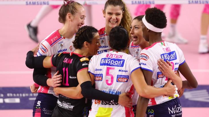 Volley: A1 Femminile, Novara colpo grosso al Pala Verde