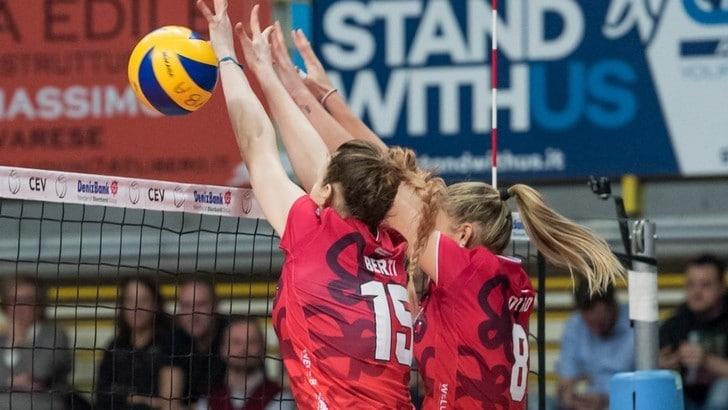 Volley: Cev Cup, Busto che fatica ! battuto il Dresdner al quinto set