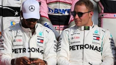 F1 Mercedes, Bottas in gara nel Rally della Lapponia