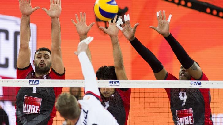 Volley: Mondiale per Club, Civitanova è la prima finalista