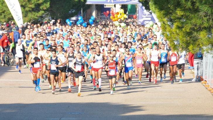 Said Boudalia vince per l'8° volta la Mezza Maratona di Cagliari - CRAI Cagliari Respira