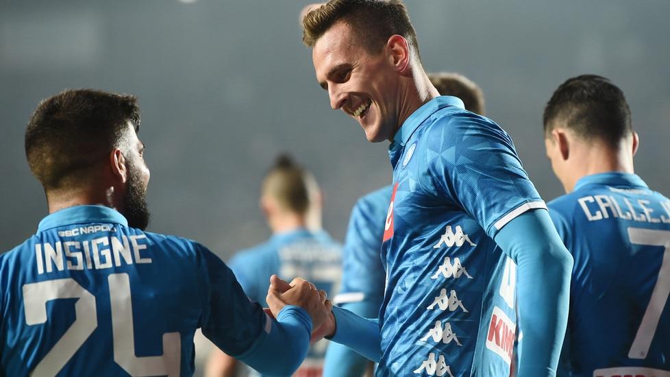 Le foto più belle della sfida tra le squadre di Gasperini e Ancelotti