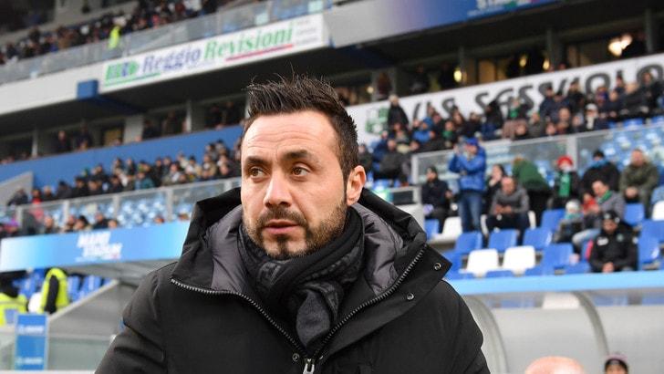 Coppa Italia Sassuolo, De Zerbi: «Dobbiamo dare tutto»