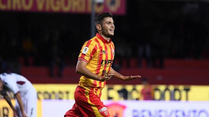Coppa Italia Benevento-Cittadella 1-0. Bandinelli vale l'Inter per i giallorossi