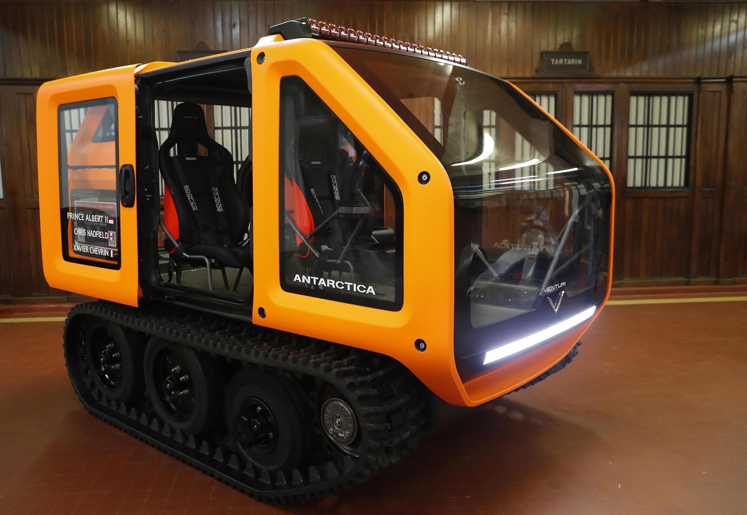 Venturi Antarctica: ecco il primo veicolo elettrico per la ricerca