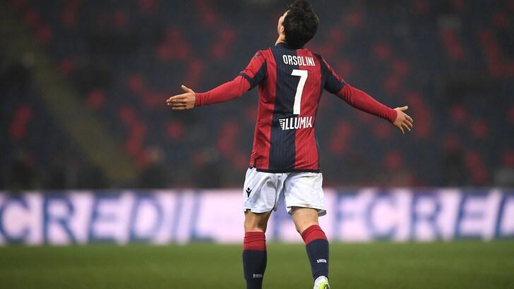 Coppa Italia, Bologna-Crotone 3-0: Orsolini mattatore. Agli ottavi c'è la Juventus