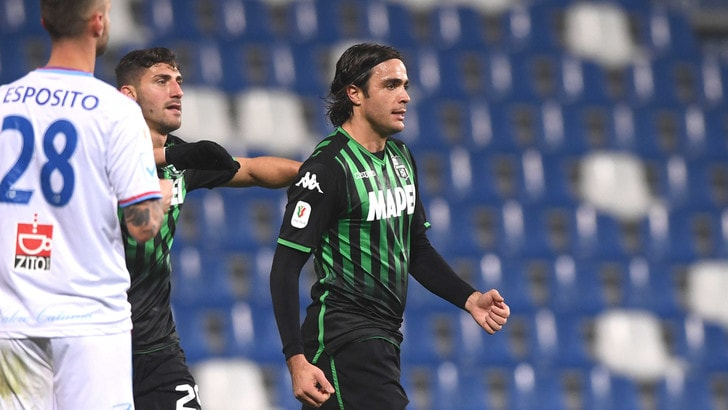 Coppa Italia, Sassuolo-Catania 2-1: De Zerbi si regala gli ottavi con il Napoli