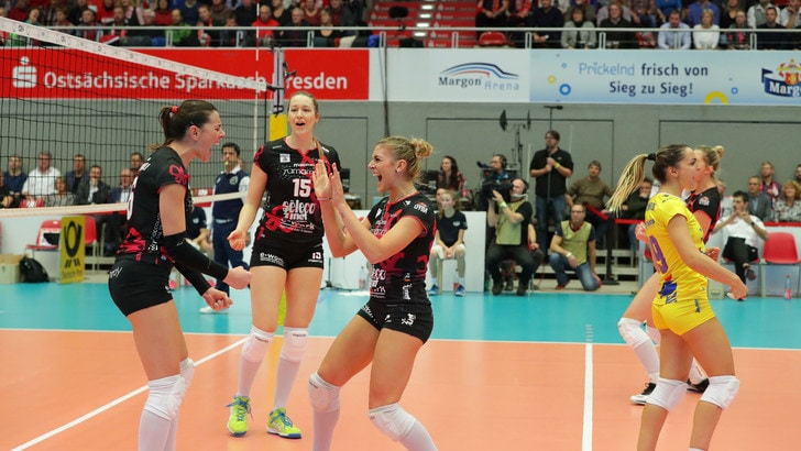 Volley: Cev Cup, Busto sbanca Dresda e vola agli ottavi