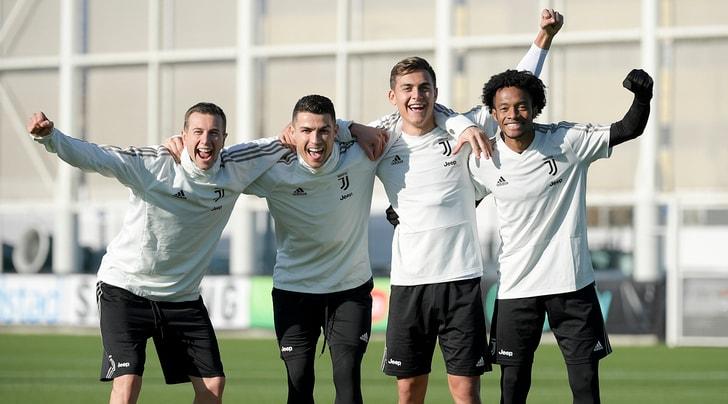 Juventus, verso l'Inter turbo attacco a 6 marce