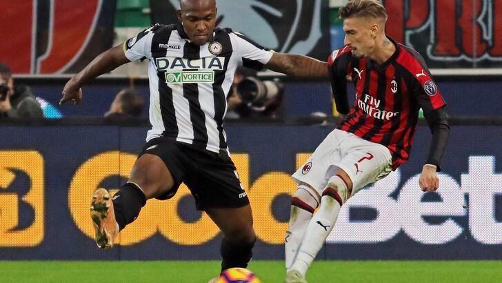 Serie A Udinese, per Samir intervento riuscito