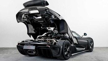 Koenigsegg Regera Carbon Naked, carbonio a vista