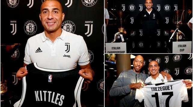 #ContaJus: la Juventus conquista la Nba e porta fortuna ai Nets