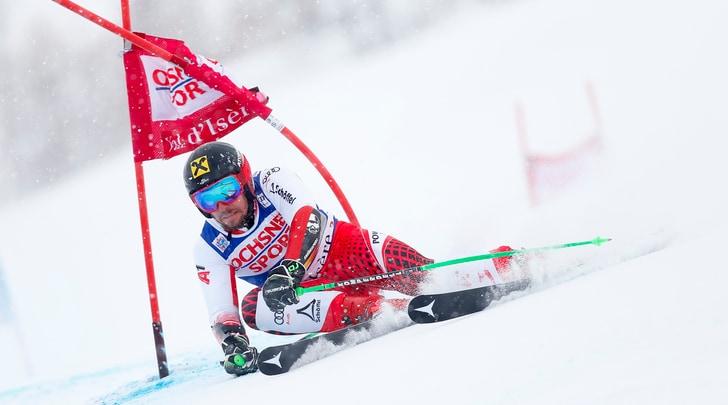 Sci, Coppa del mondo: Hirscher stravince il gigante in Val d'Isere